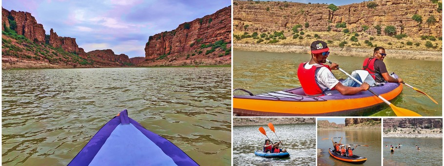 Gandikota Canyon Boating Walk4Health