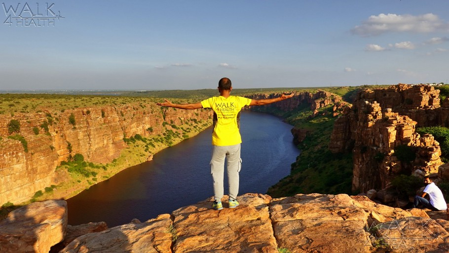 Gandikota Canyon by Walk4Health